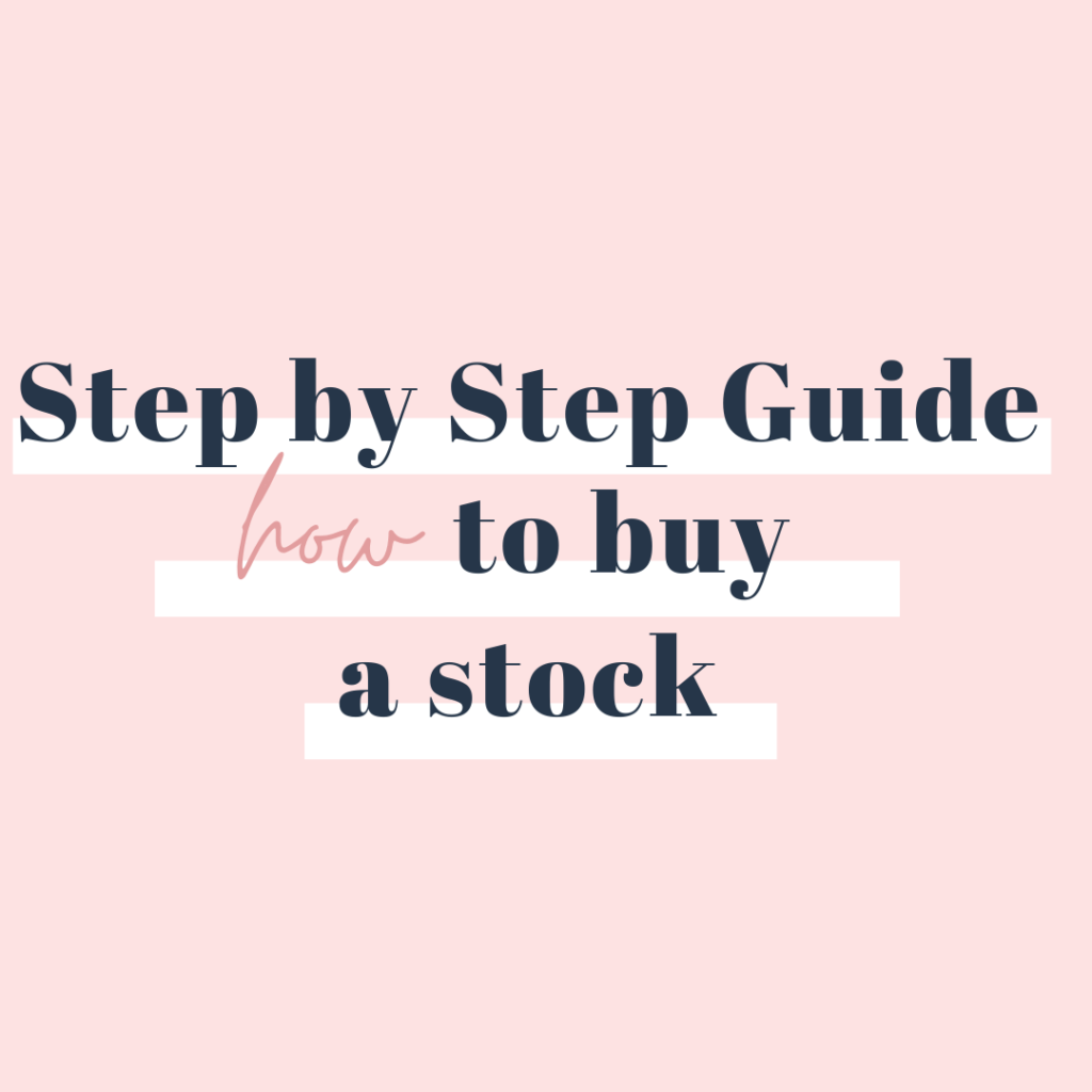 How to Buy a Stock